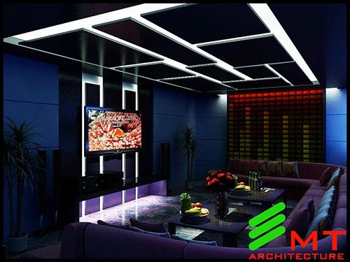 Thiết kế quán karaoke tại hải phòng