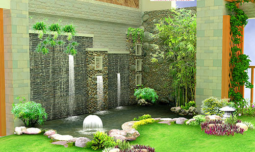 Thiết kế thi công sân vườn tiểu cảnh tại Hải Phòng