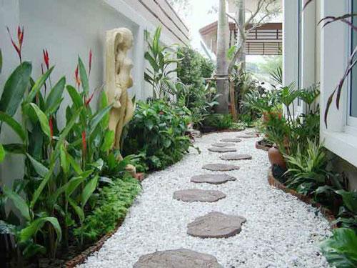 Thiết kế tiểu cảnh sân vườn hải phòng