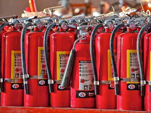 nhà xưởng và những thiết bị chữa cháy cần thiết