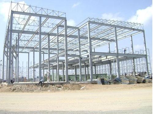 xây dựng nhà thép tiền chế 2 tầng tại hải dương