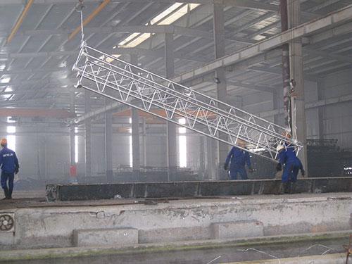 mạ kẽm khung thép nhà xưởng một cách ngăn tình trạng rỉ sét nhà xưởng