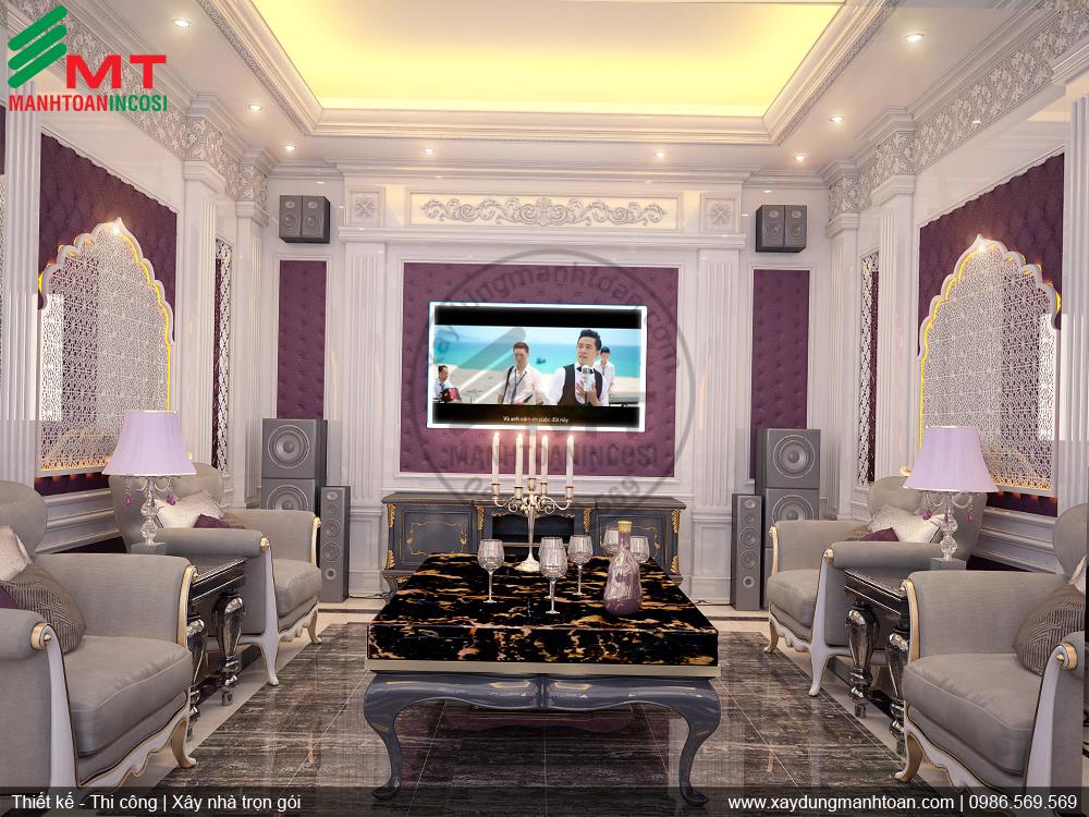 thiết kế nội thất căn hộ Vincom Long Biên - công ty TNHH đầu tư xây dựng Mạnh Toàn