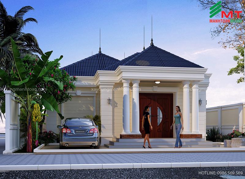 anh An - Nhà vườn 1 tầng tại Quảng Ninh