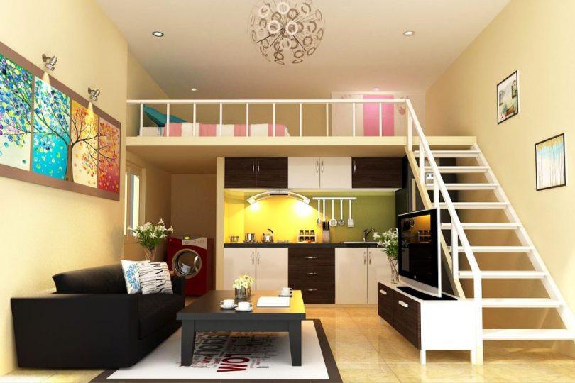 Mẫu căn hộ có diện tích nhỏ