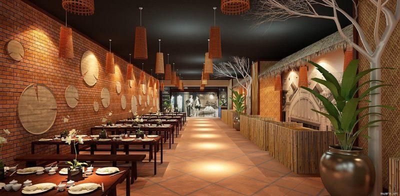 Công ty thiết kế nhà hàng đẹp tại Hải Phòng