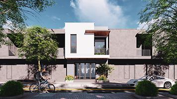 Mẫu thiết kế nhà đẹp tại Hải Phòng - Nhà phố 52m2