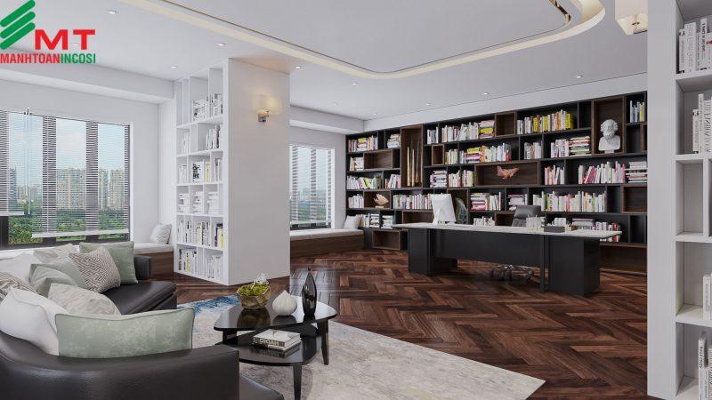 Thi công nội thất căn hộ Penthouse Hải Phòng