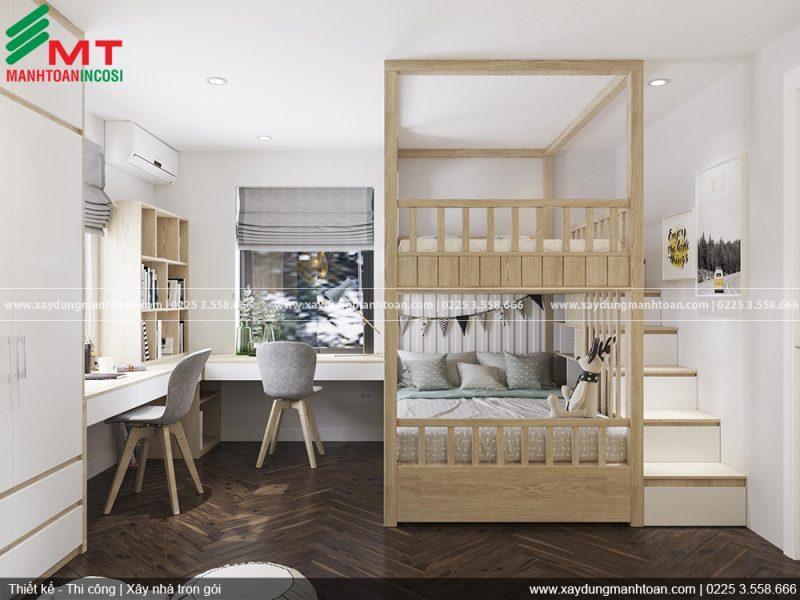 Thi công và thiết kế nội thất khu nhà ở Anh Dũng