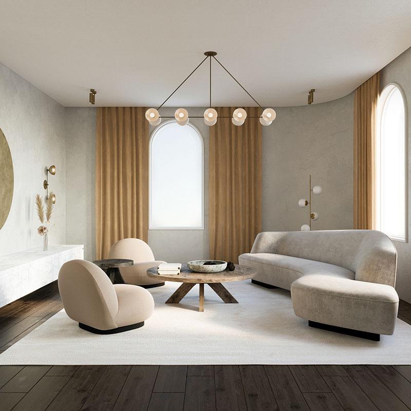 Thiết kế nội thất tối giản cho các không gian khác nhau trong nhà