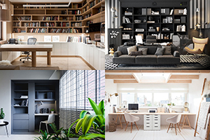 Phòng làm việc tại nhà – Dấu cộng hoàn hảo cho những người đam mê công việc