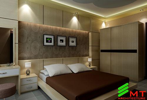 Thiết kế phòng ngủ anh Huy Hải Phòng