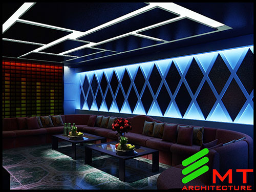Thiết kế quán karaoke