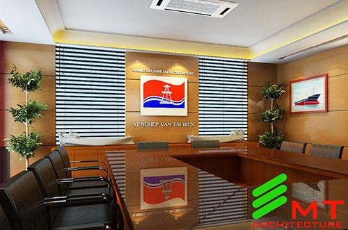 Thiết kế văn phòng cty vận tải biển hải phòng