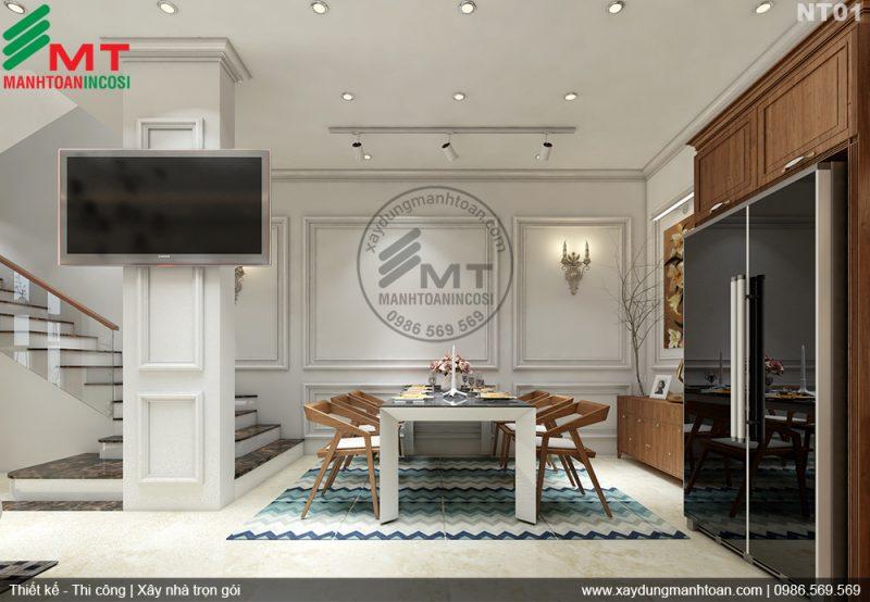 NỘI THẤT TÂN CỔ ĐIỂN - công ty thiết kế nội thất tại Hải Phòng