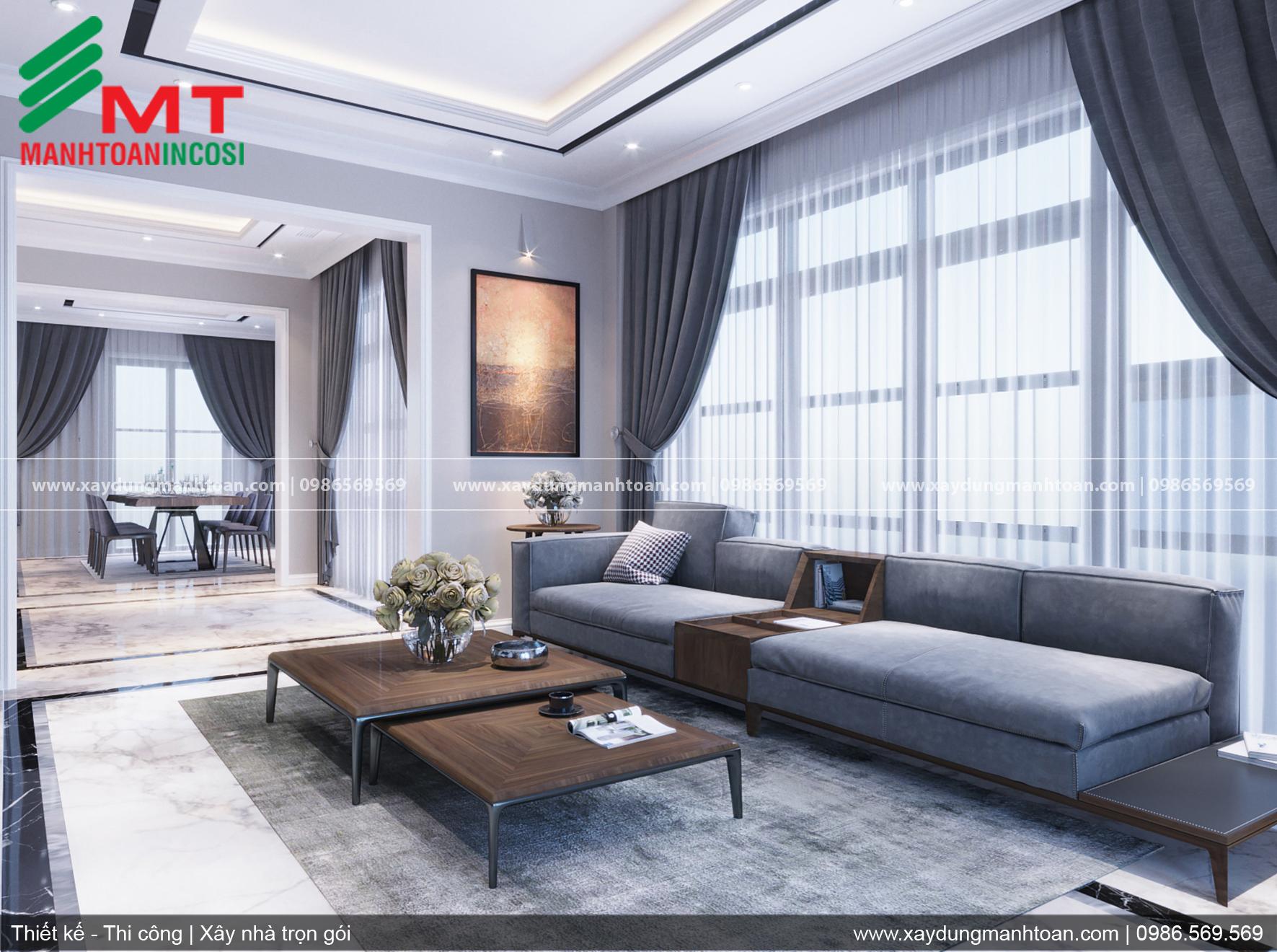 Thiết kế biệt thự đẹp, nội thất nhà đẹp