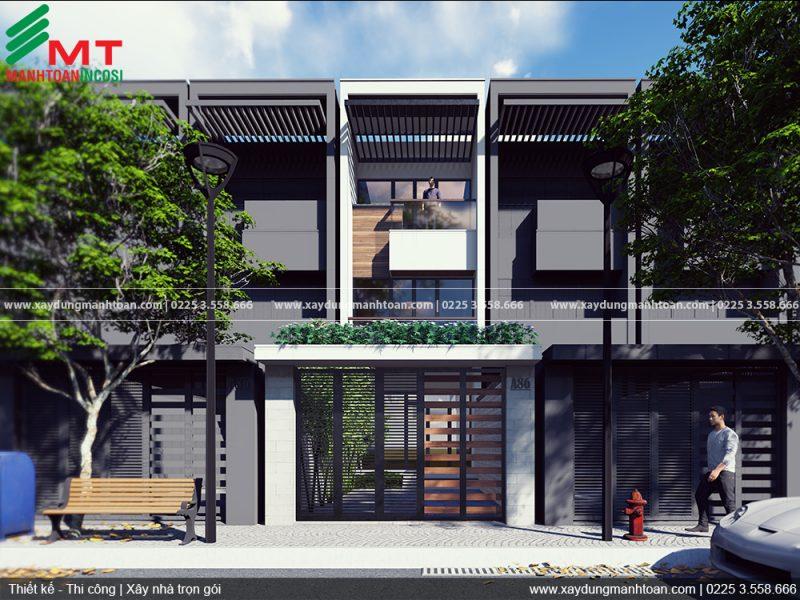 Thiết kế và thi công nhà phố 3 phòng ngủ