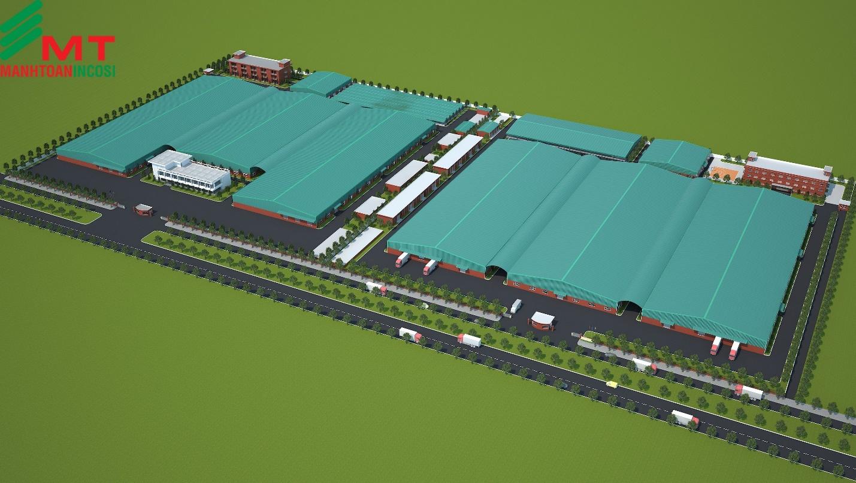 Nhà máy sản xuất mỹ phẩm General Glory Việt Nam