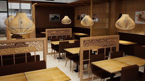 Thi công nhà hàng trọn gói tại quận Hải An