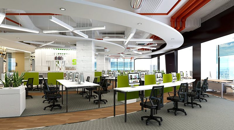 Thiết kế nội thất văn phòng đẹp tại Hải Phòng