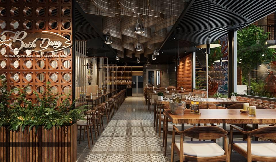 Thiết kế thi công nhà hàng tại Hải Phòng