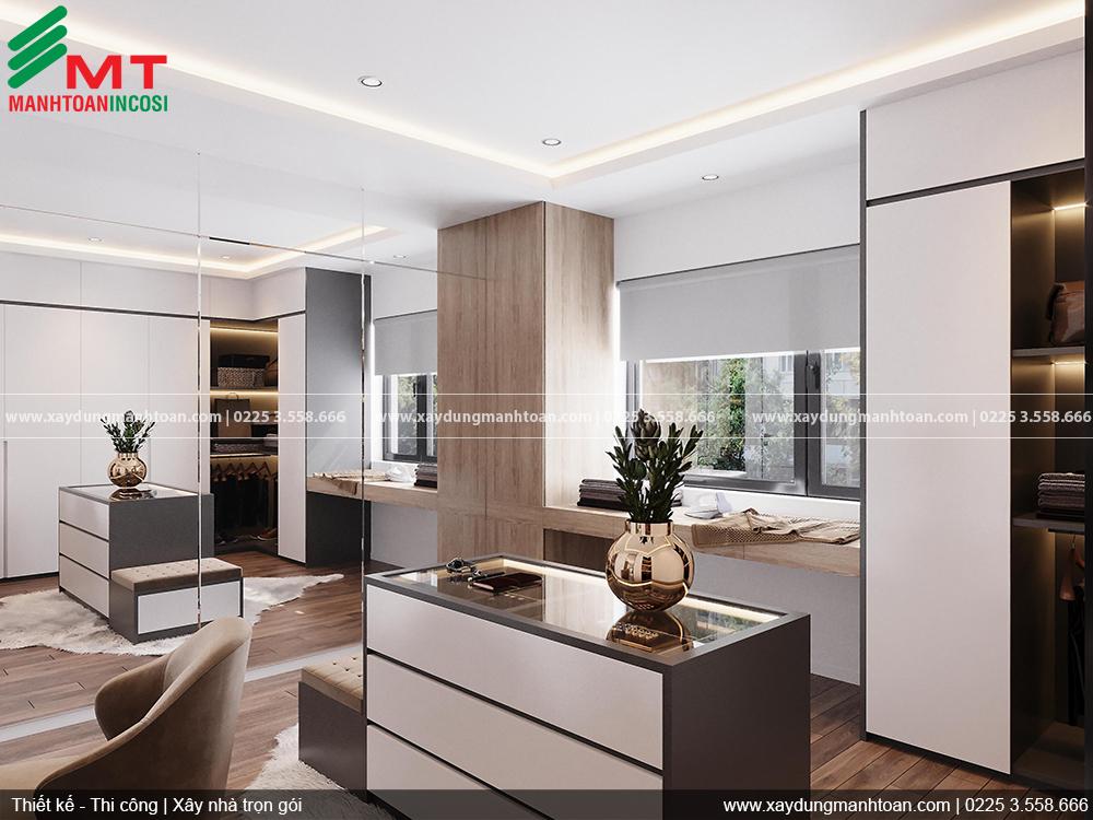 Thiết kế Cải tạo nhà phố khu Lê Hồng Phongnội thất sang trọng với gam màu trung tính