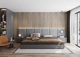 Thiết kế nội thất sang trọng với gam màu trung tính