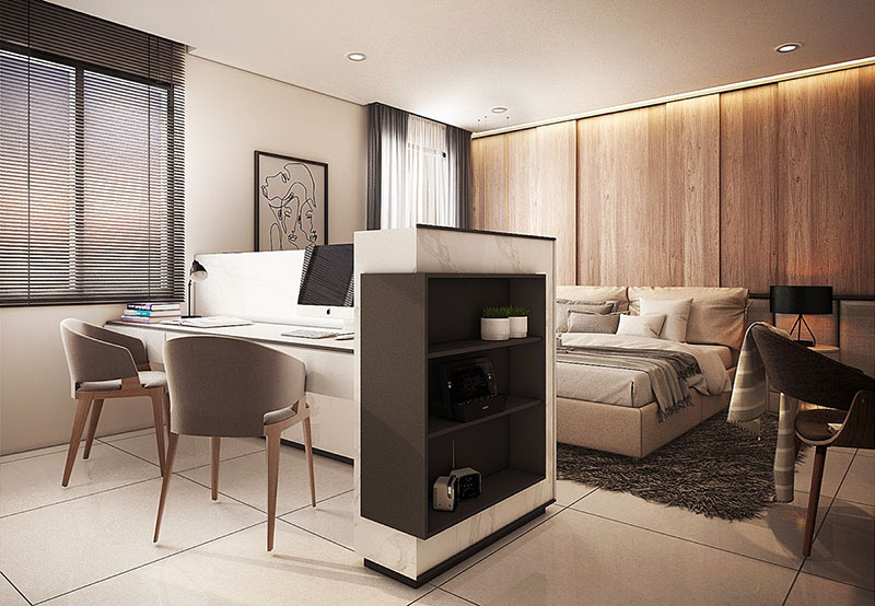 7 điều cần lưu ý khi thiết kế không gian làm việc trong phòng ngủ