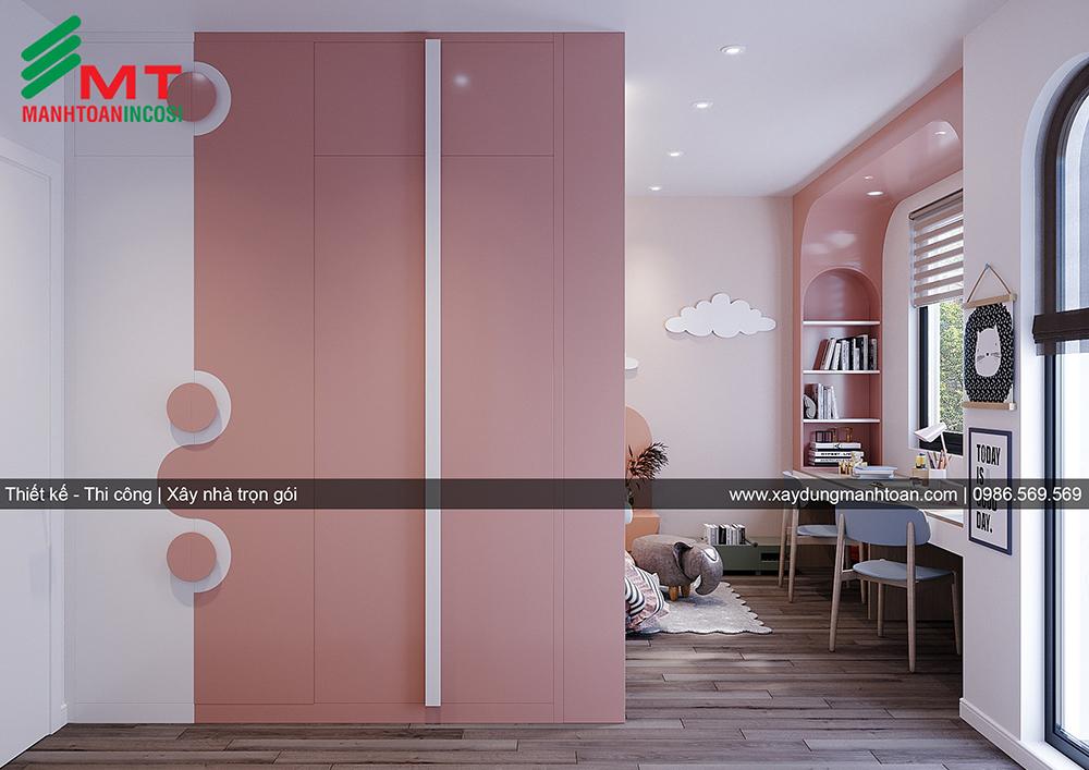 Thiết kế nội thất biệt thự Ngọc Trai khu Vinhomes Marina