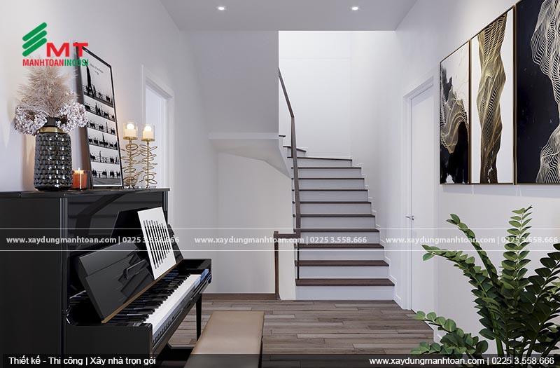 Cách tính bậc cầu thang dựa theo chiều cao tầng và chiều cao bậc thang