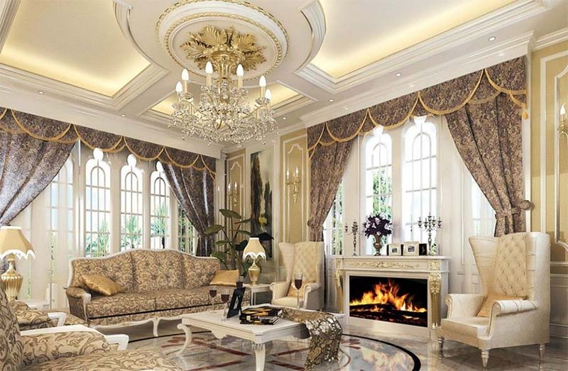 Thời gian thiết kế thi công nội thất cổ điển Pháp