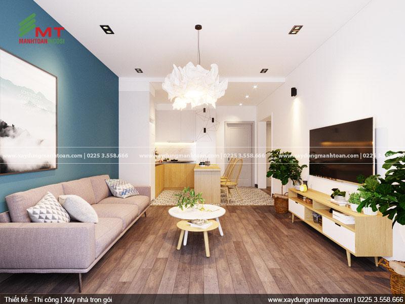 Phòng khách của căn hộ Paris