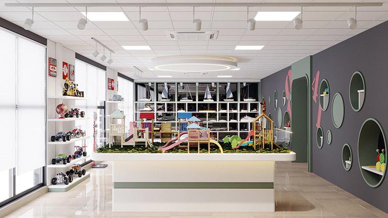 phòng trưng bày đồ chơi - Công ty TNHH GFT Việt Nam