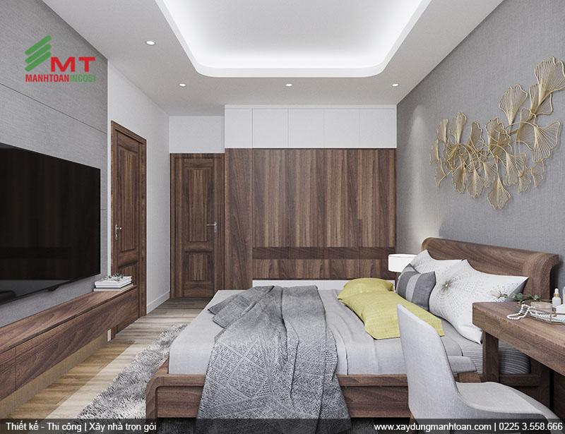 Thiết kế nội thất phòng ngủ hiện đại.