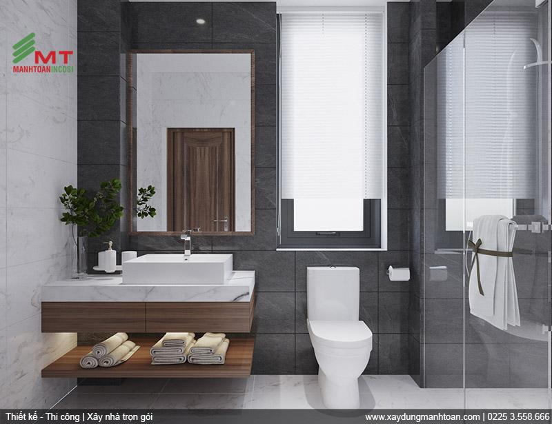 Thiết kế nội thất phòng tắm 1.