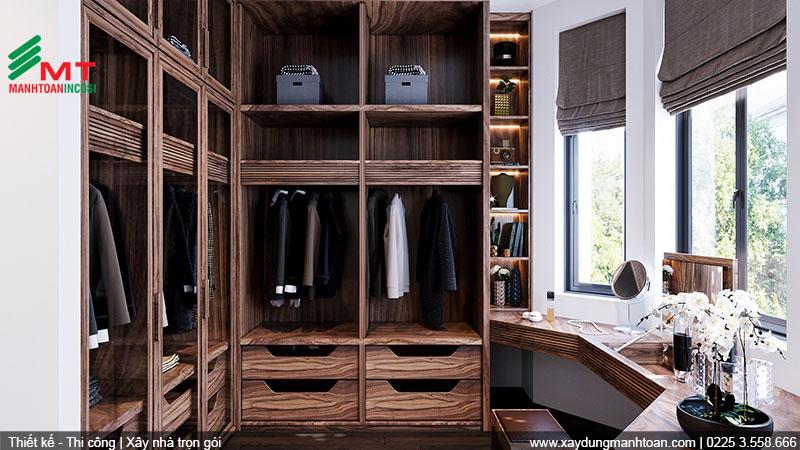 Thiết kế phòng thay đồ
