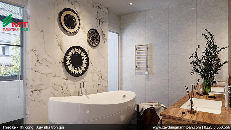 Thiết kế nội thất phòng tắm 2.