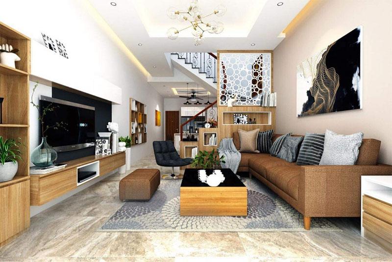 7 quy tắc khi thiết kế phòng khách nhà ống 2021