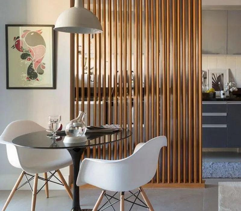 5 lợi ích tuyệt vời khi dùng vách ngăn phòng khách và bếp