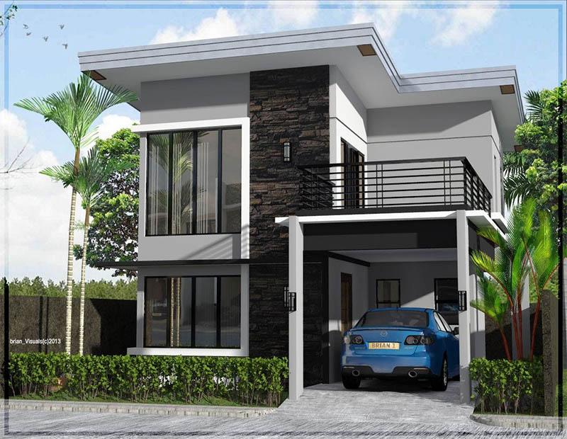 10 mẫu nhà 2 tầng đẹp, sang trọng, phù hợp diện tích nhỏ