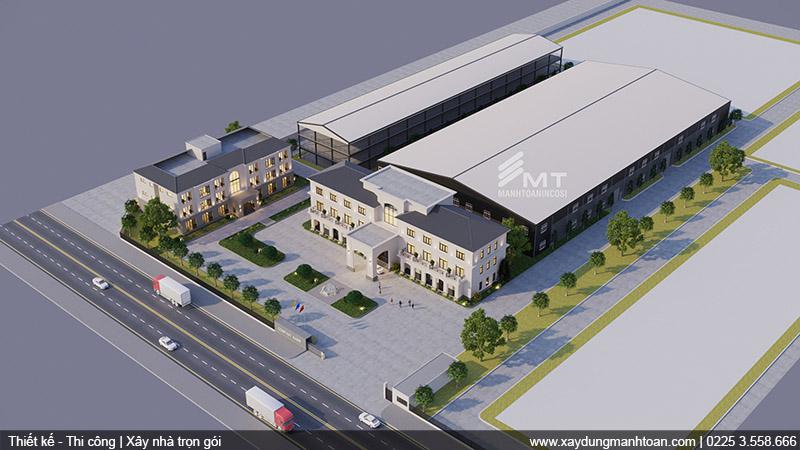 Nhà máy sản xuất mĩ phẩm
