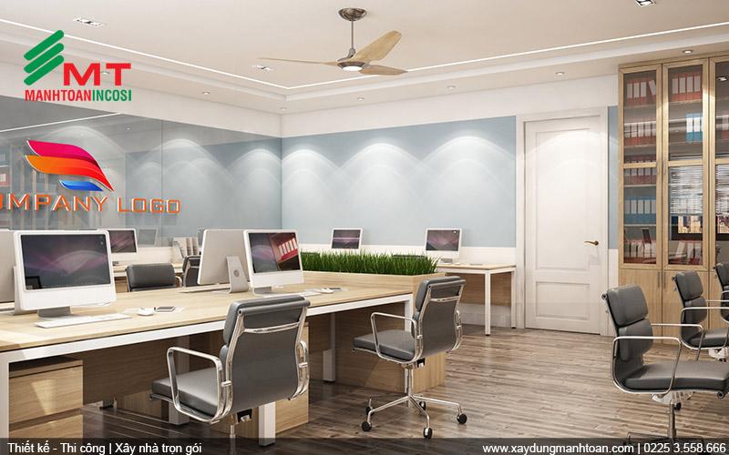 Thiết kế nội thất khu văn phòng