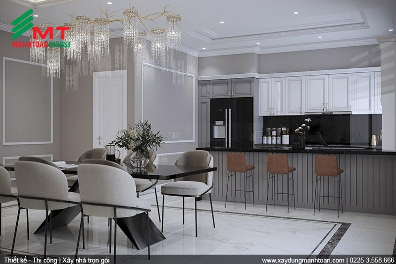Tối ưu công năng sử dụng không gian nhà bếp đẹp