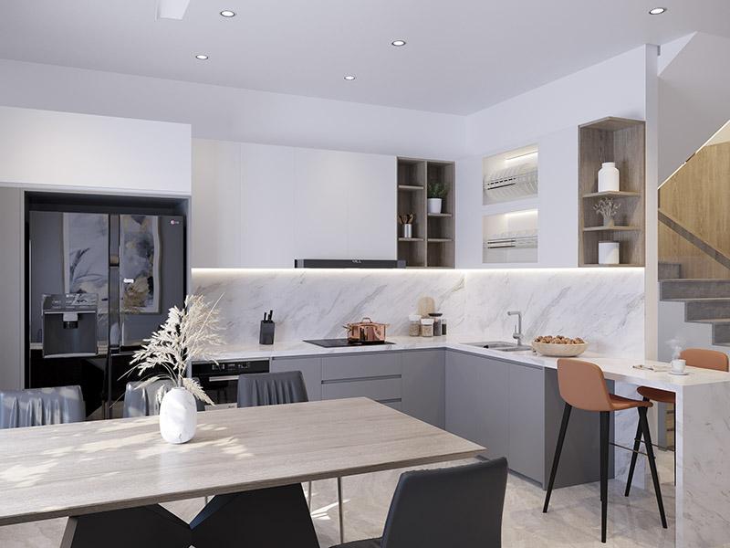 7 xu hướng thiết kế không gian nhà bếp đẹp hot nhất 2021
