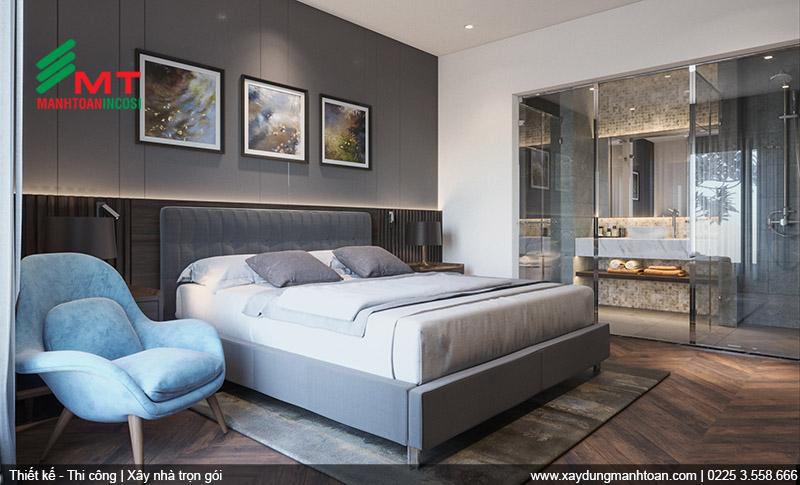 Thiết kế phòng nghỉ khách sạn Mon Hotel