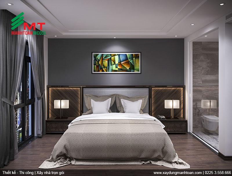 Thiết kế phòng nghỉ nhỏ khách sạn Mon Hotel