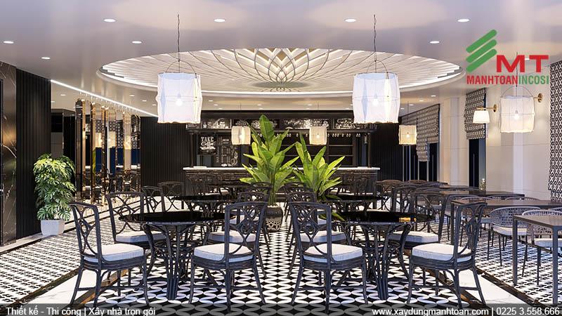 Thiết kế Bar Bể Bơi khách sạn Mon Hotel