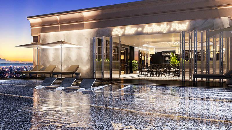 Thiết kế và thi công tiện ích khách sạn Mon Hotel