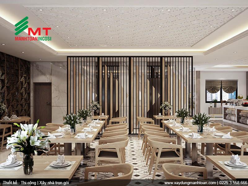 Thiết kế nhà hàng buffet
