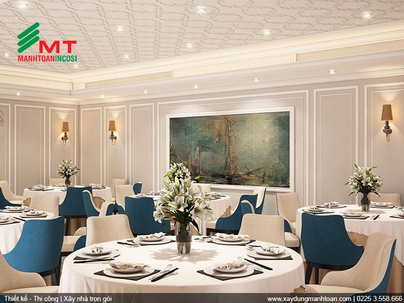 Thiết kế nội thất phòng ăn 3